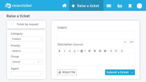 Create tiket
