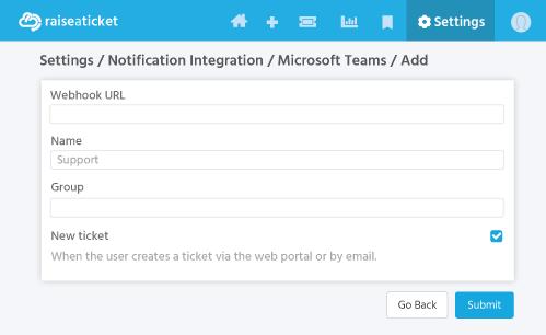 Microsoft teams Notification