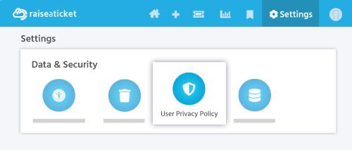 raiseaticket help desk portal Privacy policy edit